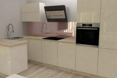 0014. Pastelowa kuchnia