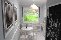 0035. biala kuchnia prowansalska White kitchen provencal