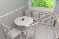 0036. biala kuchnia prowansalska White kitchen provencal