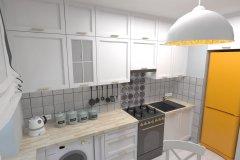 0037. biala kuchnia prowansalska White kitchen provencal