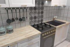 0038. biala kuchnia prowansalska White kitchen provencal