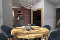0041. kuchnia z drewna kitchen wood