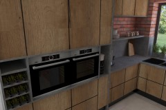 0042. kuchnia z drewna kitchen wood