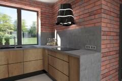 0043. kuchnia z drewna kitchen wood
