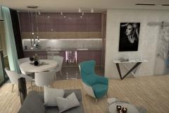 082.-kuchnia-fioletowa-biala-drewno-kitchen-violet-white-purple-wood