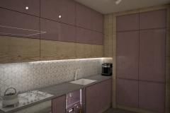 083.-kuchnia-fioletowa-biala-drewno-kitchen-violet-white-purple-wood