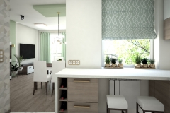 124.-kuchnia-biala-brazowa-zielona-polysk-kitchen-white-brown-green-gloss