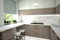 125.-kuchnia-biala-brazowa-zielona-polysk-kitchen-white-brown-green-gloss