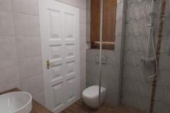 0088. lazienka a la loft bathroom