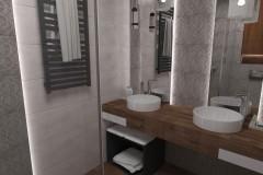 0089. lazienka a la loft bathroom