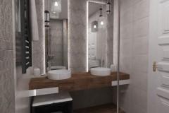 0090.  lazienka a la loft bathroom