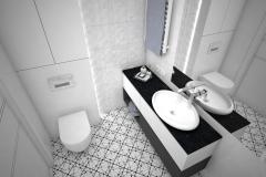 146.-lazienka-biala-las-czarny-wysoki-polysk-wanna-wolnostojaca-bathroom-white-forest-black-gloss-white-tub