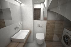 156.-lazienka-bialy-drewno-scianka-prysznicowa-misa-wc-bocchi-lustro-bathroom-white-wood-walk-in-mirror