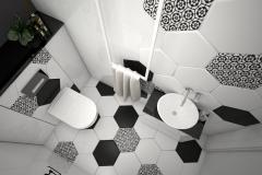 161.-lazienka-czarno-biala-heksagony-bathroom-white-black-hexagons