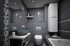 163.-lazienka-szara-grafitowa-biala-niebieska-mozaika-bathroom-grey-graphite-white-blue-mosaic