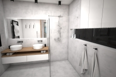 169.-lazienka-z-wanna-biala-drewno-szara-czarna-bathroom-tub-white-wood-grey