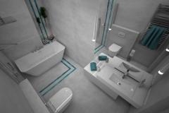 176.-lazienka-z-wanna-i-prysznicem-szara-z-turkusowa-mozaika-bathroom-shower-and-bath-mosaic