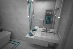 177.-lazienka-z-wanna-i-prysznicem-szara-z-turkusowa-mozaika-bathroom-shower-and-bath-mosaic