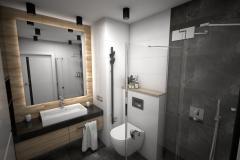 194.-lazienka-czarno-biala-drewno-umywalka-nablatowa-prysznic-odplyw-liniowy-bathroom-white-black-wood