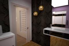 0004.-przedpokoj-glamour czarny bialy hall glamour black white