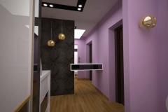 0005.-przedpokoj-glamour czarny bialy hall glamour black white