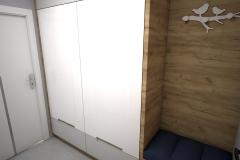 017. przedpokoj drewno bialy polysk hall wood white goloss