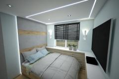 061.-sypialnia-blekitna-drewno-beton-led-lustro
