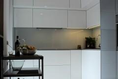 0006. kuchnia biala szara wysoki polysk kitchen white grey high gloss