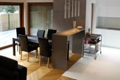 0009. kuchnia biala szara wysoki polysk kitchen white grey high gloss