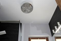 0013. lazienka szary drewno czarny bathroom grey wood black