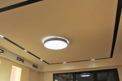 0017. sufit w salonie lampa plafon oswietlenie  ceiling livingroom lamp light