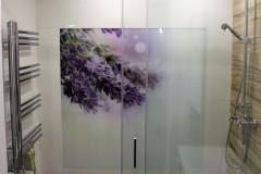 0030.  realizacja lazienka prowansalska bialo fioletowa z drewnem lawenda realisation bathroom lavender white wood purple violet